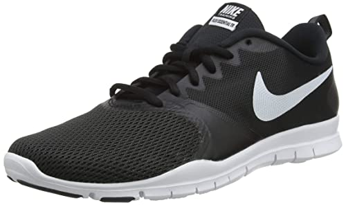 Amazon.com | Nike Womens Flex Essential Training Shoes (7 M US, Black/Black/Anthracite/White) | Fashion Sneakers