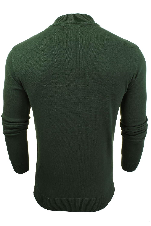 e40e78613 Mens Turtle Neck Jumper by Brave Soul  Amazon.co.uk  Clothing