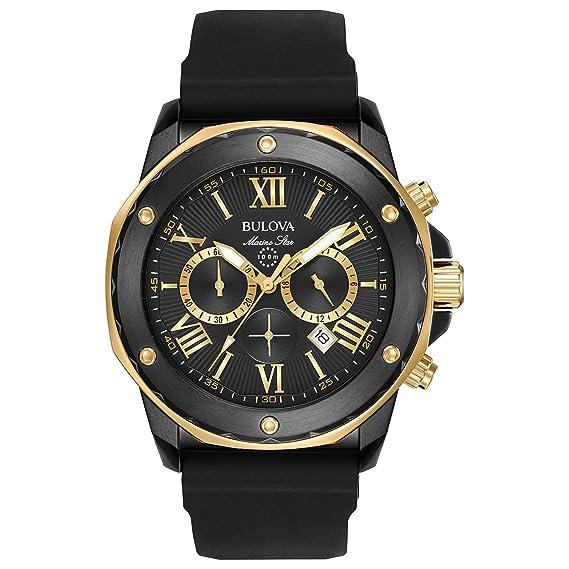 10686ff48 Bulova 98B278 Reloj Analógico para Hombre