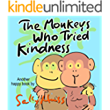 The Monkeys Who Tried Kindness (Adorable Rhyming Bedtime Story/Picture Book About Practicing Kindness)
