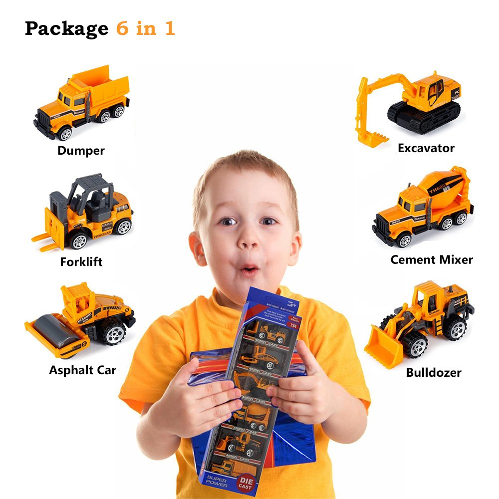 Toys For 3 4 Year Old Boys Joy Jam Diecast Toy Vehicles Set Construction