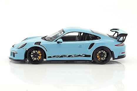 Minichamps - Porsche - 911/991 GT3 RS - 2015 Coche de ferrocarril de Collection, 153066234, Azul: Amazon.es: Juguetes y juegos