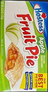 HOSTESS Fruit Pie Snack Classics, Apple, 1 count