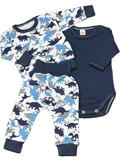 3 TLG. Set 22837 KleKle Baby M/ädchen Kleidungsset