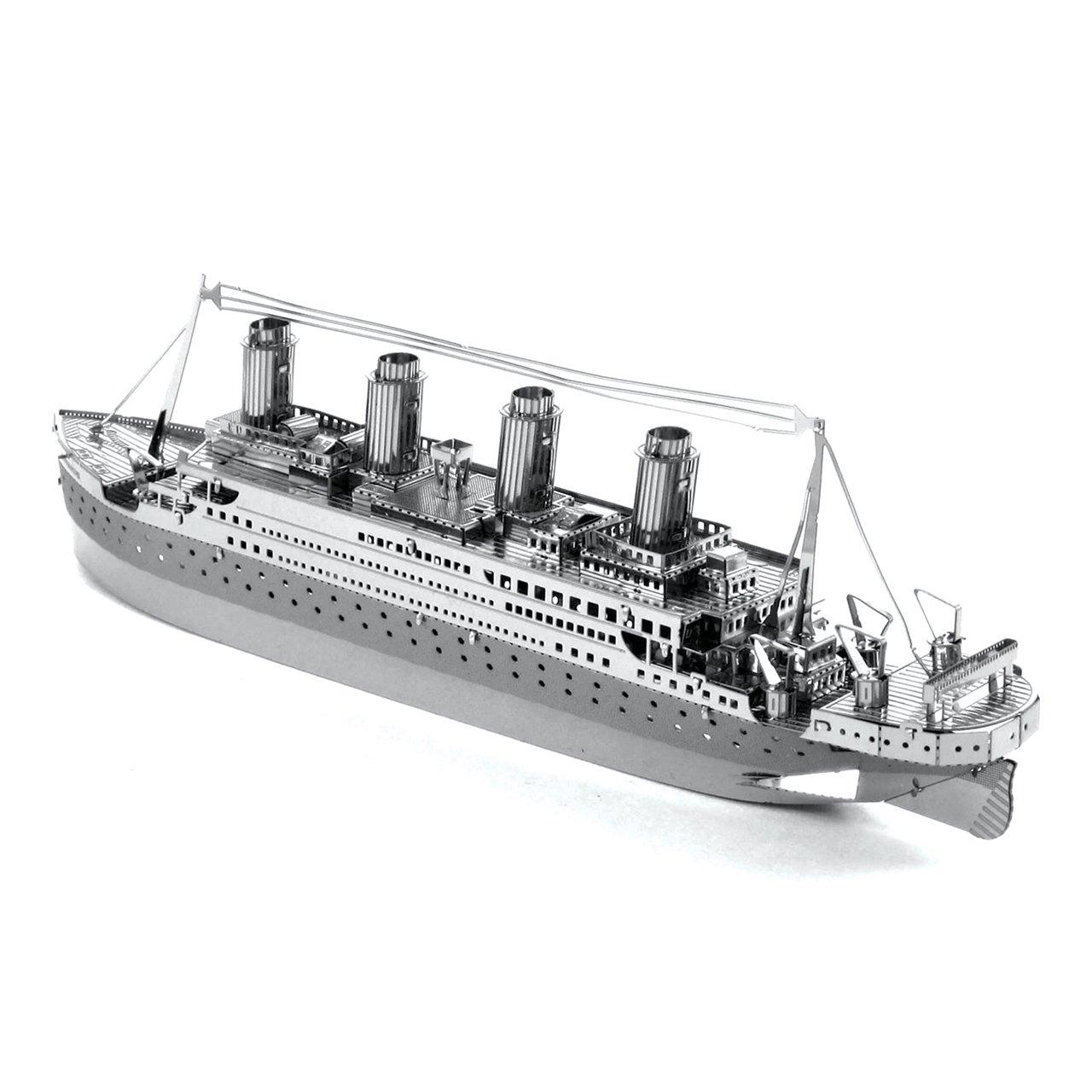 Fascinations Metal Earth Titanic 3D Metal Model Kit