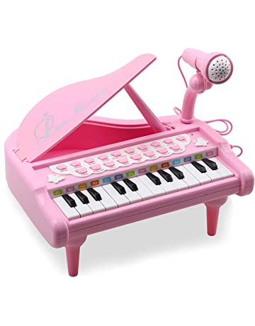 2f21d05bb Amy Benton Toddler Piano Toy Keyboard Pink for Girls Birthday Gift 1 2 3 4  Years Old
