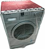 Classic Plastic Washing Machine Cover For 5.5Kg-6.5Kg Front Load Washing Machines (Multicolor)