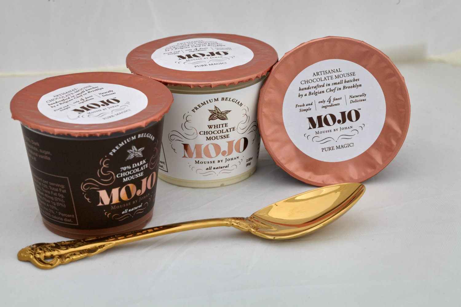 Amazon.com : MOJO Belgian Chocolate Mousse, Assortment 6 Pack (2 of each) : Grocery & Gourmet Food