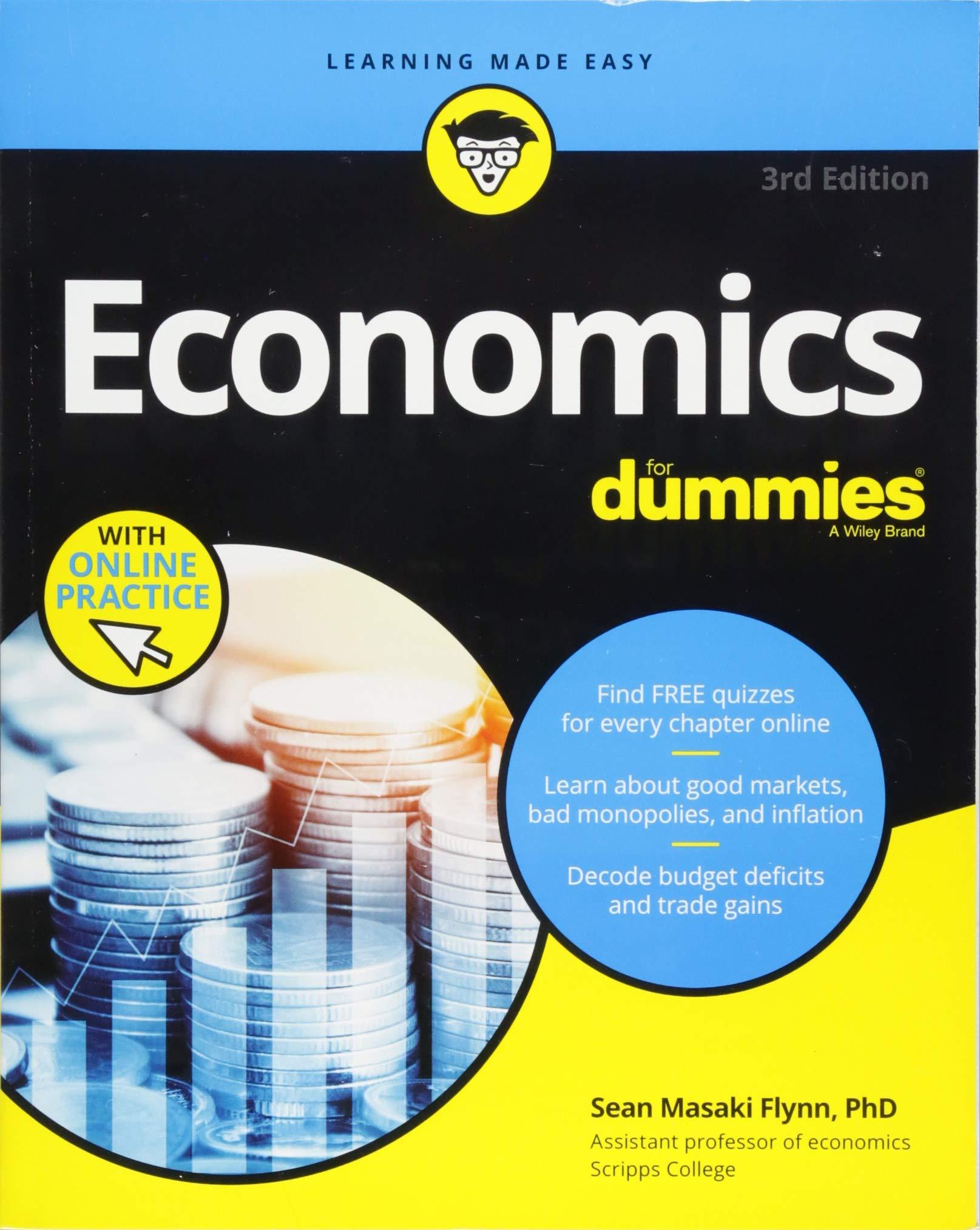 6c2557e0c87d0 Economics For Dummies, 3rd Edition: Sean Masaki Flynn: 0001119476380 ...