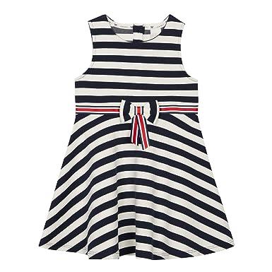 a36ac0b556 Debenhams J by Jasper Conran Kids Girls  Navy Striped Skater Dress Age ...