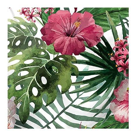 Tapiz con estampado de flores dragonaur, para usar como esterilla de Yoga, toalla de
