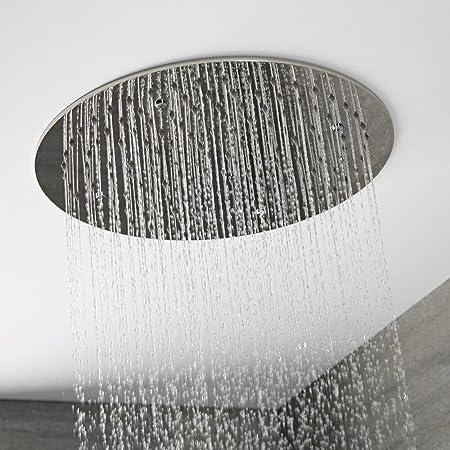 Bad & Küche Kompetent Duschkopf Kopfbrause Regendusche Durchmesser 200x200 Mm Verchromt