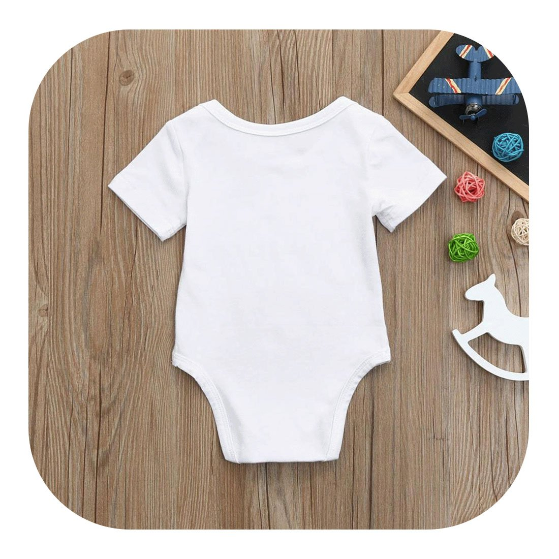 Amazon.com: molyveva Infant Baby Girl Boy Pelele manga corta ...