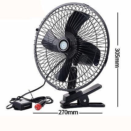 JISHUQICHEFUWU Coche eléctrico del Ventilador/Aire Acondicionado ...