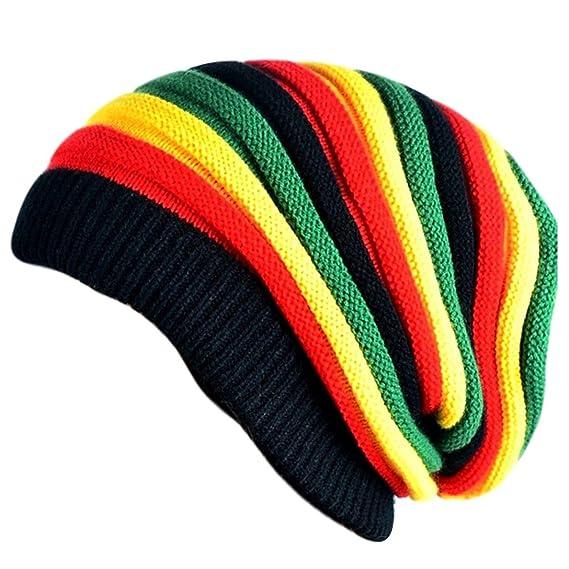 4c7127875eefe Bob Marley Beanie caps for men   skull cap   Unisex beanie  Amazon.in   Clothing   Accessories