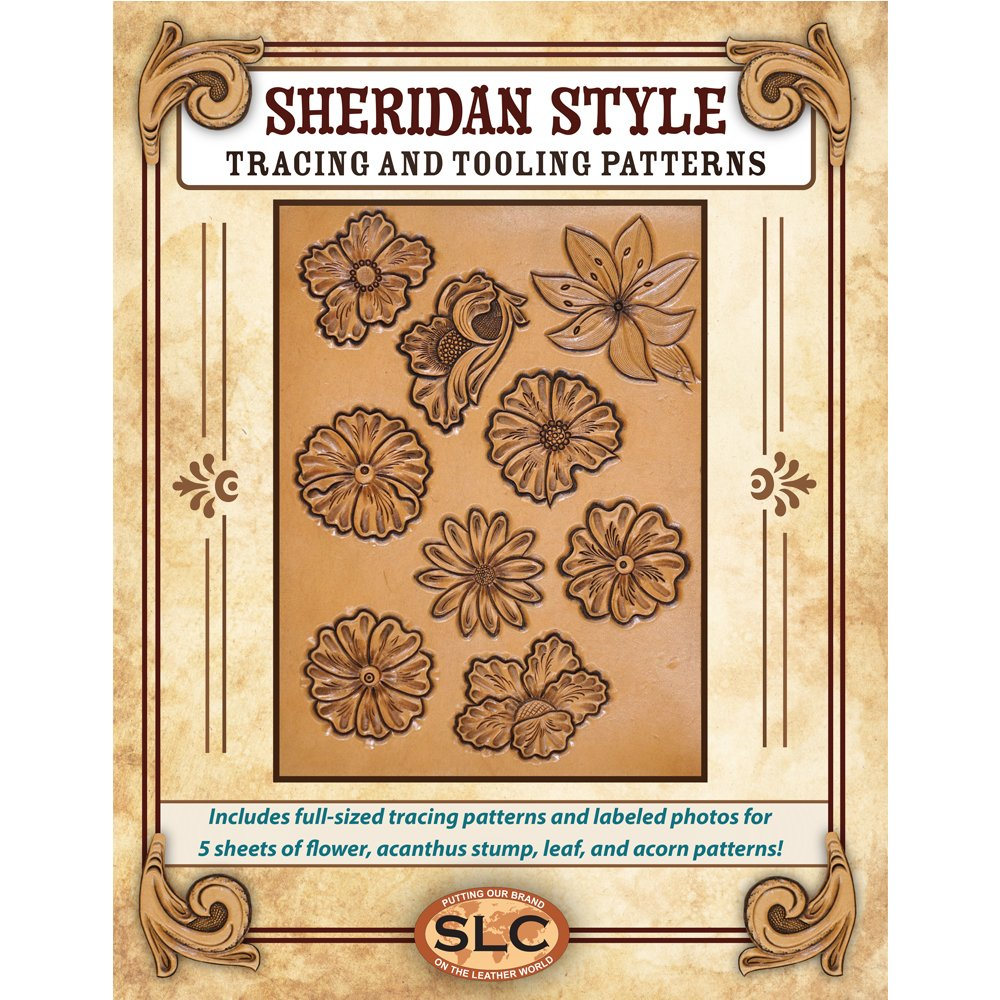 Amazoncom Sheridan Style Tooling Tracing Pattern Pack