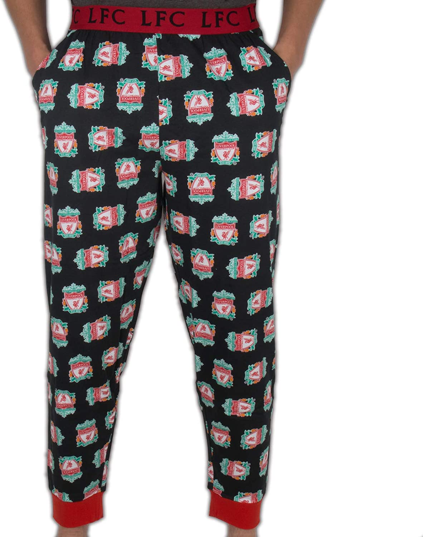 Liverpool Football Club Soccer Gift Mens Lounge Pants Pajama Bottoms At Amazon Men S Clothing Store