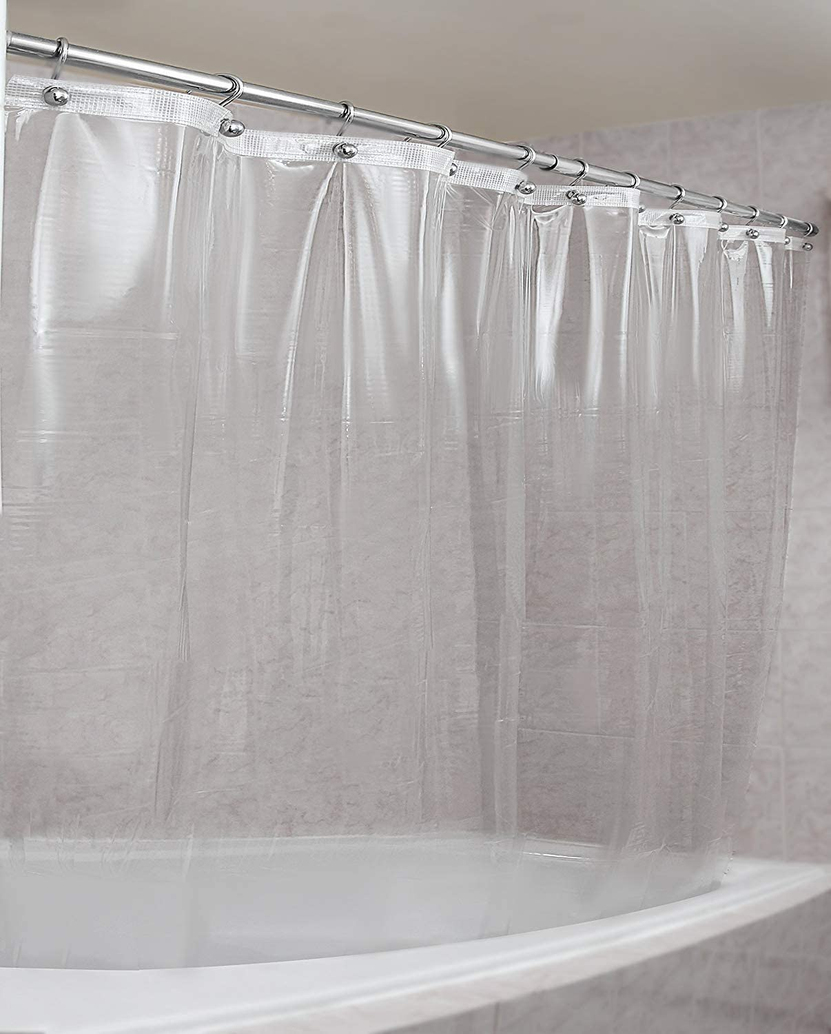 Amazon Com Epica Strongest Mildew Resistant Shower Curtain Liner