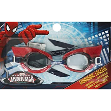 75188fed37e Marvel Spiderman 3D Character Swimming Goggles  Amazon.co.uk  Toys ...