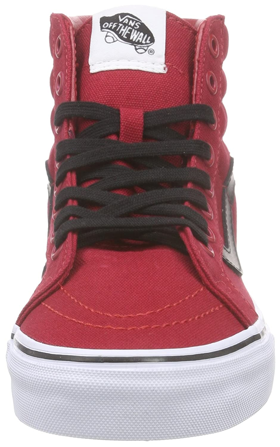 Vans Unisex Sk8-Hi Slim Women's Skate Shoe B011JZGQ0W 5.5 D(M) US|Chili Pepper Red Black