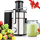 Meykey Juicer Machine,Juice Extractor 80MM Wide