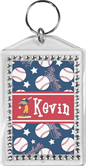 Baseball Bling Keychain (Personalized) at Amazon Women s Clothing store  36debe02e2