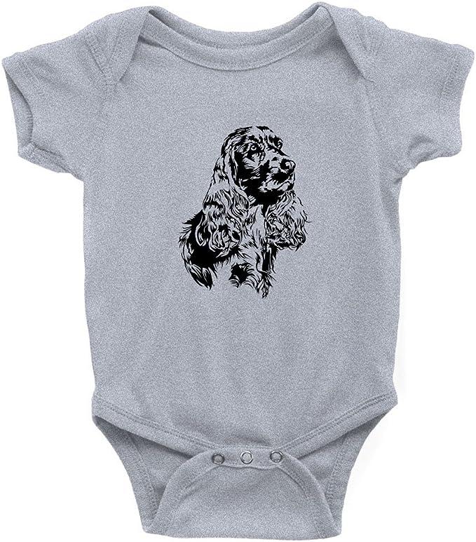 Teeburon Cocker Spaniel Face Special Graphic Body de bebé: Amazon.es: Ropa y accesorios
