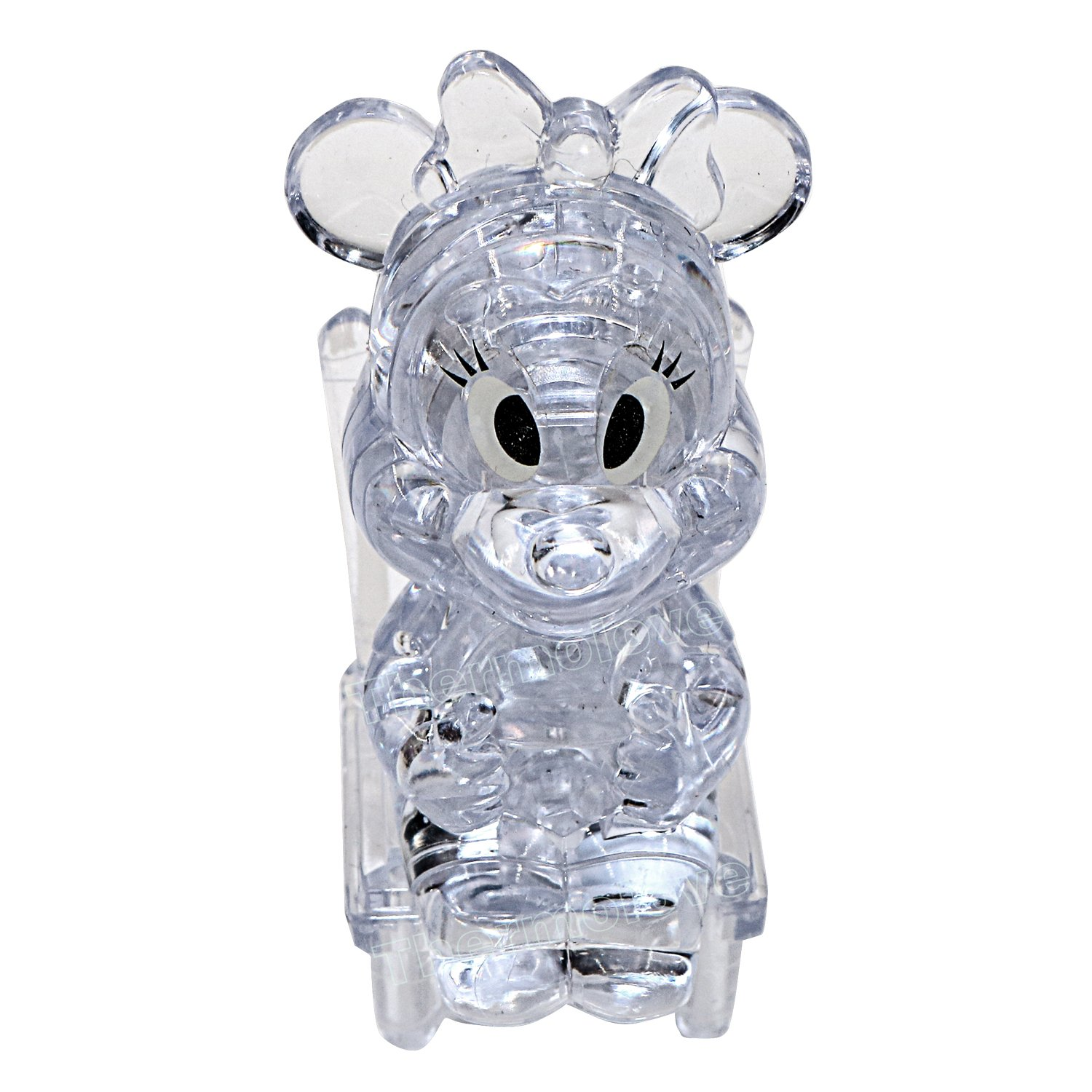 24 Thermolove 3D Decoration Model Toy Crystal Puzzle Game Toy Minnie-Transparent