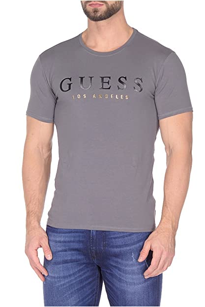 2654d7f177f17 Guess Camisetas M74I60J1300-TXDG-TXXL  Amazon.co.uk  Shoes   Bags