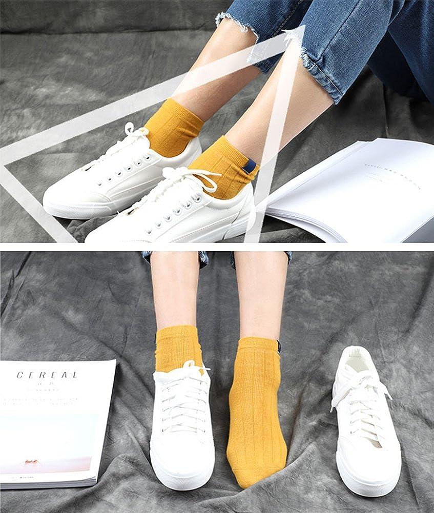 Moonsocks Womens Cute Casual Socks Novelty Funny Pattern Crew Socks 2 Pairs