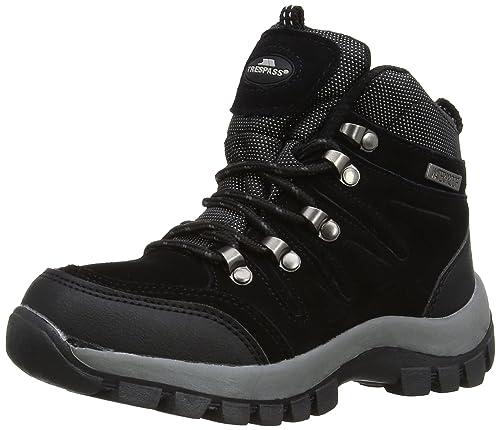 Trespass Unisex-Child Predoro Walking Boots MCFOBOJ20001 Black 1 UK, 33 EU