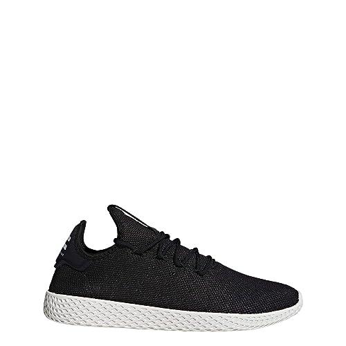 promo code 8809e e7412 adidas Pharrell Williams Tennis Hu Herren Sneaker Schwarz Amazon.de Schuhe   Handtaschen