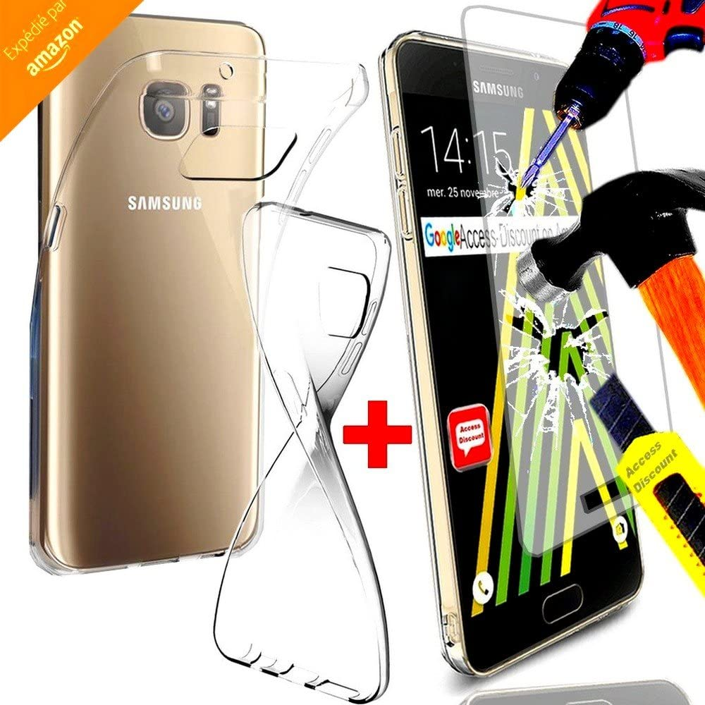 de joy Division irrompible * * – Funda Samsung Galaxy A5 2016 carcasa silicona Gel TPU + Protector de pantalla de cristal templado Filtro Protector de pantalla ...