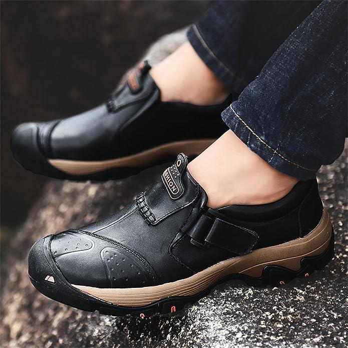 ailishabroy Zapatillas de Deporte Ocasionales al Aire Libre de los Hombres Zapatos Casuales