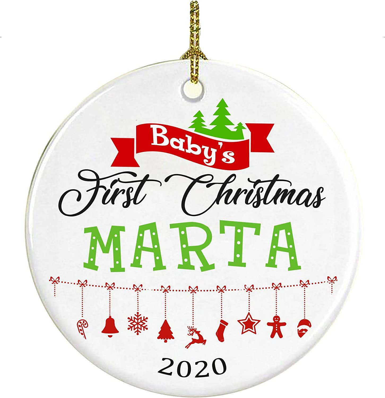 Amazon.com: Christmas Tree Ornament Decoration Baby First
