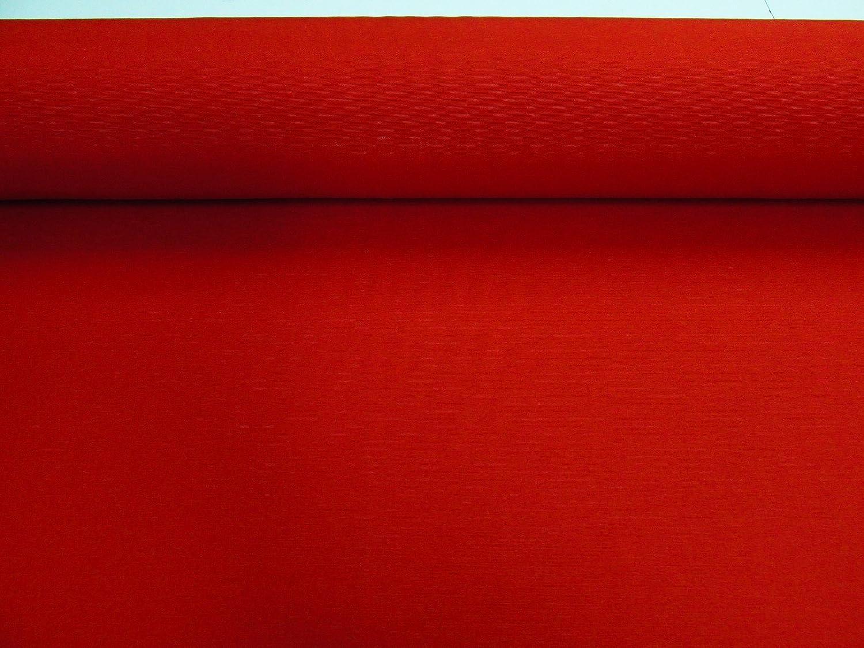 Confecci/ón Saymi Metraje 0,50 MTS Tejido loneta Lisa N/º 144 Rojo con Ancho 2,80 MTS.