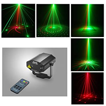 Sumger New IR Remote RG DJ Laser Stage Lighting 8 Patterns With DualEffect Laser Projector Red  sc 1 st  Amazon.com & Amazon.com: Sumger New IR Remote RG DJ Laser Stage Lighting 8 ... azcodes.com