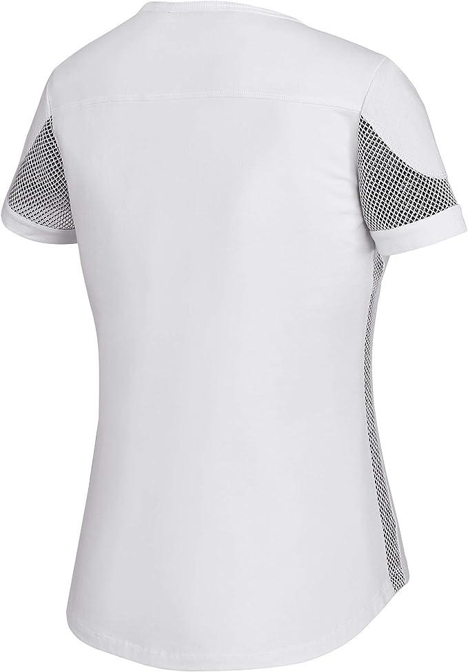Harley-Davidson Camiseta de malla 3D para mujer, color blanco ...