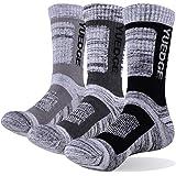 YUEDGE 靴下 メンズ ソックス 男性靴下 アウトドア ウェア トレッキング ソックス 登山用靴下 抗菌防臭 吸汗速乾