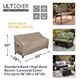 ULTCOVER Waterproof Outdoor Sofa Cover Durable