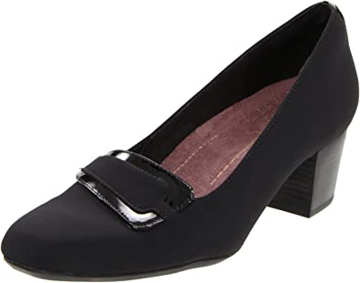 Clarks Womens Smart Clarks Coolest Lass Leather Shoes In CB_1335