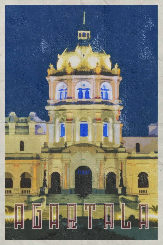 Agartala City Tripura Ujjayanta Palace India Daily Notebook Journal Diary Notepad Books Dms 9781096165439 Amazon Com Books