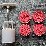 SaveStore Chinese Style Mooncake Mold 5Pcs/Set 4