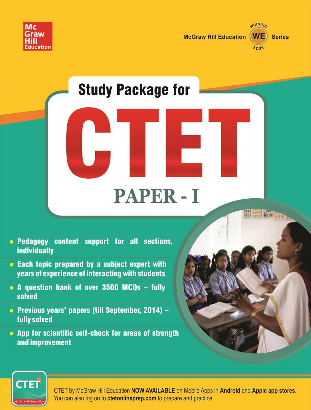 Buy Study Package for CTET - Central Teacher Eligibility