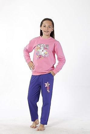 HMD YUPPİ - Chándal para niña Rosa Rosa 3-4 Años: Amazon.es: Ropa ...