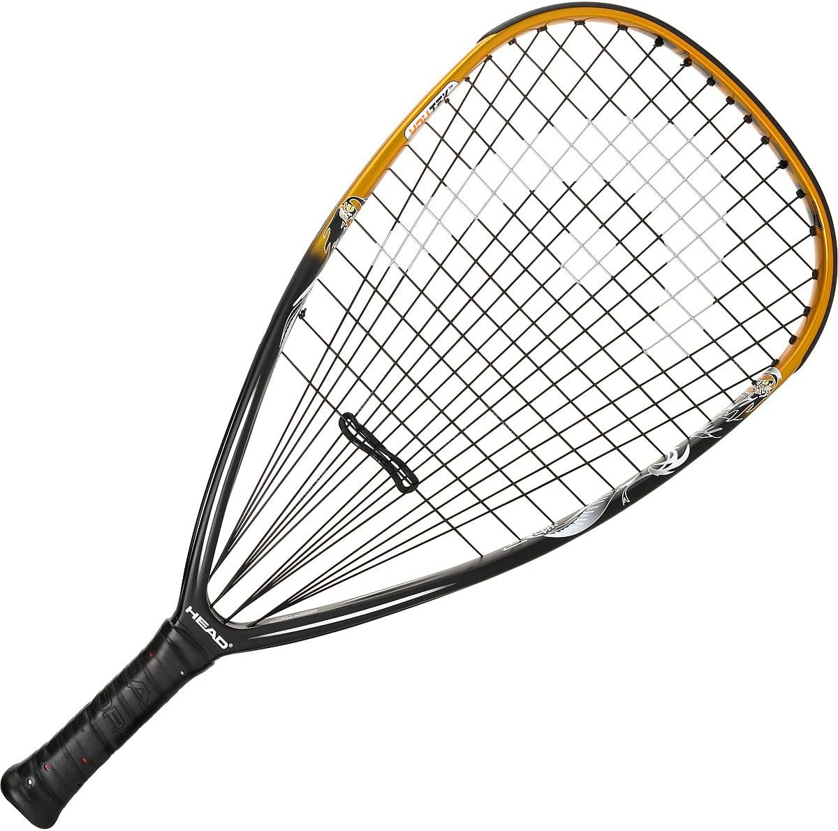 Head TKO Racquetball Racquet – Black Gold White 3 5 8 Misc.