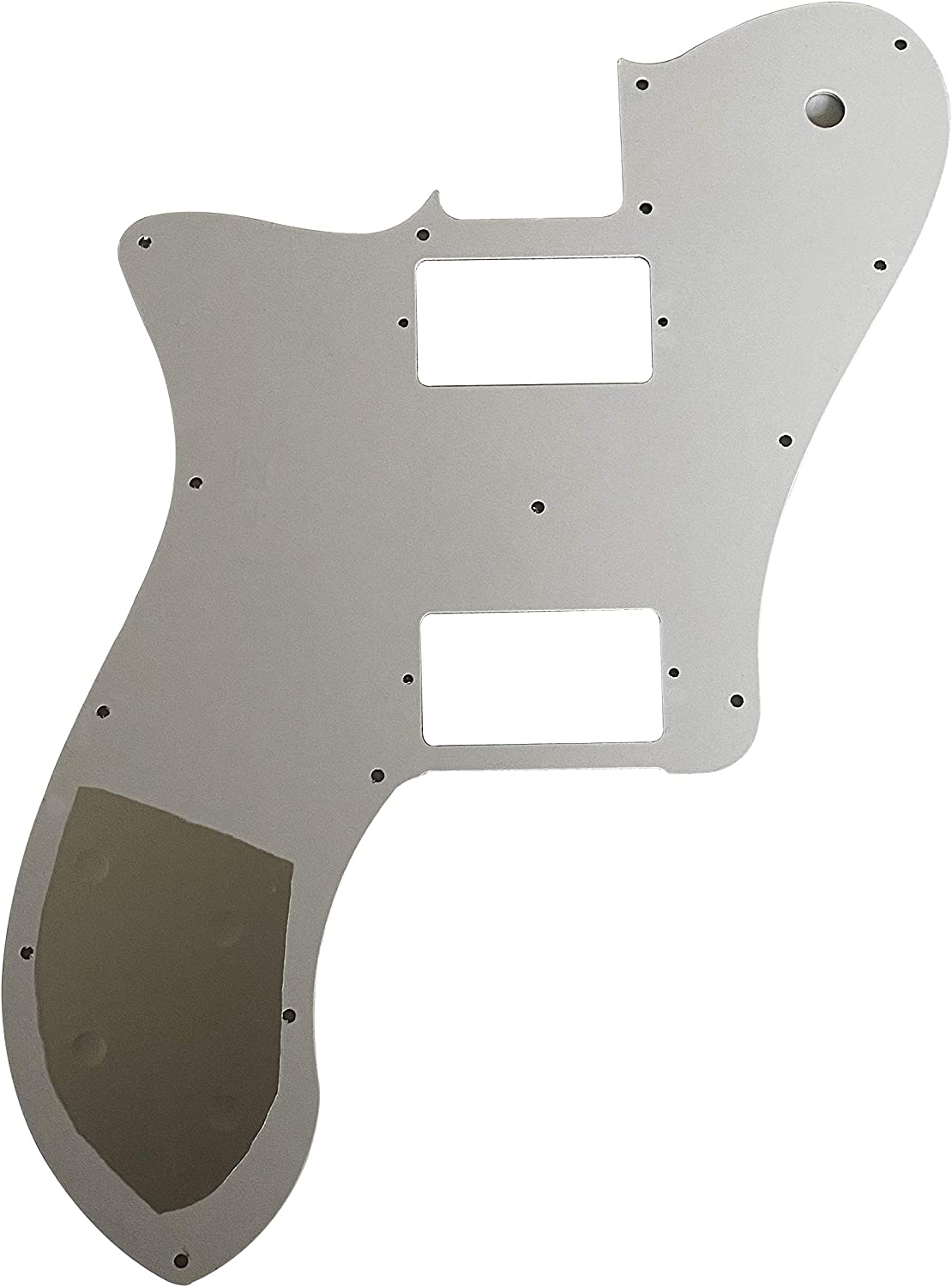 3 Ply Black For Fender Professional Tele Deluxe Humbucker Style Guitar Pickguard Scratch Plate