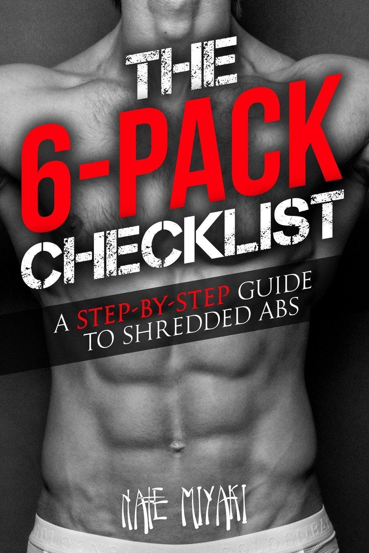 6 Pack Checklist Step Step Shredded product image