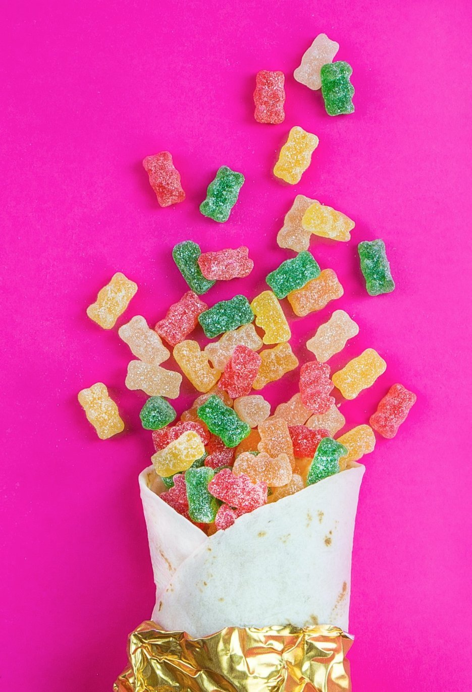 Haribo Gummi Candy, Goldbears Gummi Candy, Sour, 4.5 oz. Bag (Pack of 12) by Haribo (Image #5)