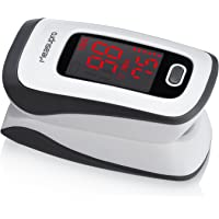 MeasuPro Instant Read Digital Pulse Oximeter with SpO2 Oxygen Sensor
